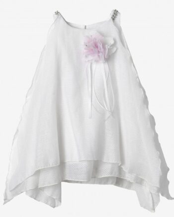 Christening Dress with Cotton Lace