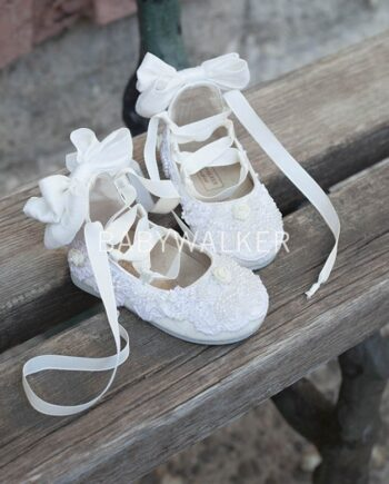Hand Sewn Girls Shoes